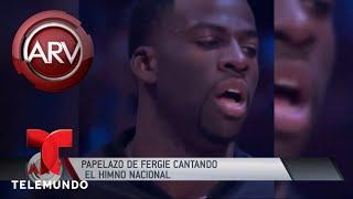 Críticas a Fergie por interpretación del himno de EE.UU | Al Rojo Vivo | Telemundo