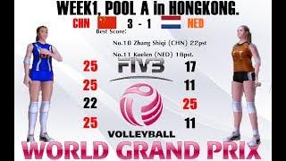 Week1 [PoolA]: China VS Netherlands Volleyball Women
