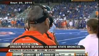 #3 Boise State vs #24 Oregon State 2010
