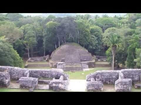 View From Top of Caana Pyramid - Caracol Mayan Ruins, Belize