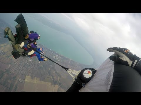 Friday Freakout: Group Of Skydivers Entangled In Premature Parachute Opening