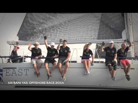 Sir Bani Yas Offshore Tour 2015 Promo Video  سباق صير بني ياس للقوارب الشارعية
