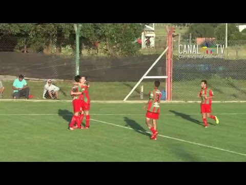 Goles Circulo Deportivo 4  Defensores Valeria del Mar 1