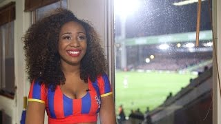 Neesha Robinson,  cheerleader for Crystal Palace Football Club - Londoner #61