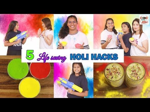 5-life-saving-holi-hacks-for-kitchen-and-home-l-thandai-recipe-#cookwithasha-#ayuandanushow