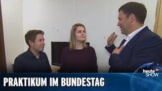 Hazel Brugger macht ein Praktikum bei SPD-Generalsekretär Lars Klingbeil