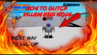 HOW TO GLITCH RAID MODE AND LVL UP FAST|boku no roblox|roblox