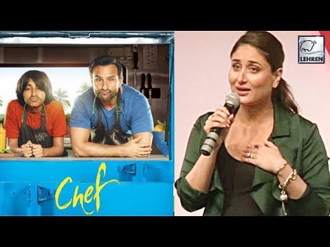 Kareena Kapoor Khan's Reaction To Saif Ali Khan's Chef Trailer | LehrenTV