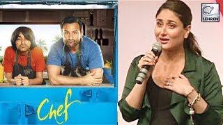 Kareena Kapoor Khan's Reaction To Saif Ali Khan's Chef Trailer | LehrenTV