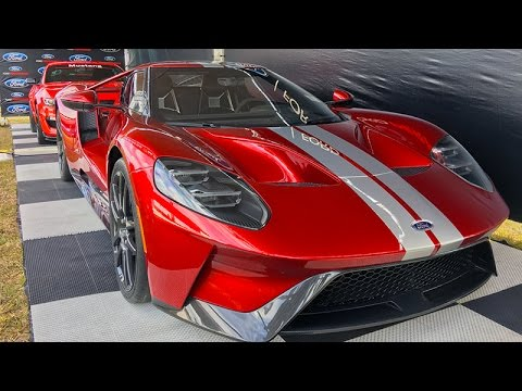 Liquid Red Ford Gt Walkaround