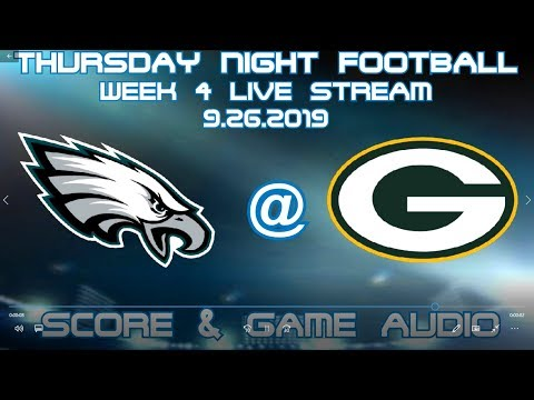 PHILADELPHIA EAGLES @ GREEN BAY PACKERS TNF WEEK 4 LIVE STREAM WATCH PARTY[GAME AUDIO ONLY]