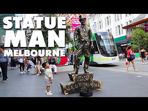 Street Royalty - Statue Man Melbourne Street Performer Mp3