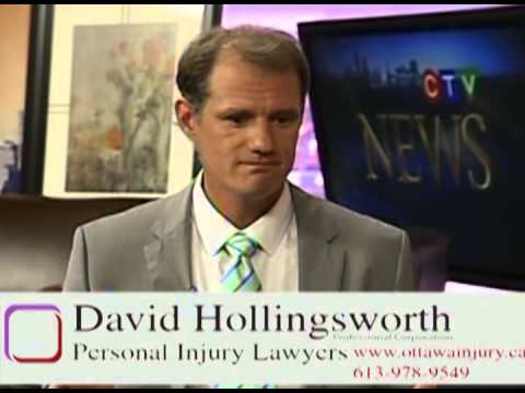 Ottawa personal injury lawyers: accident a man with spinal cord injury and paraplegic.