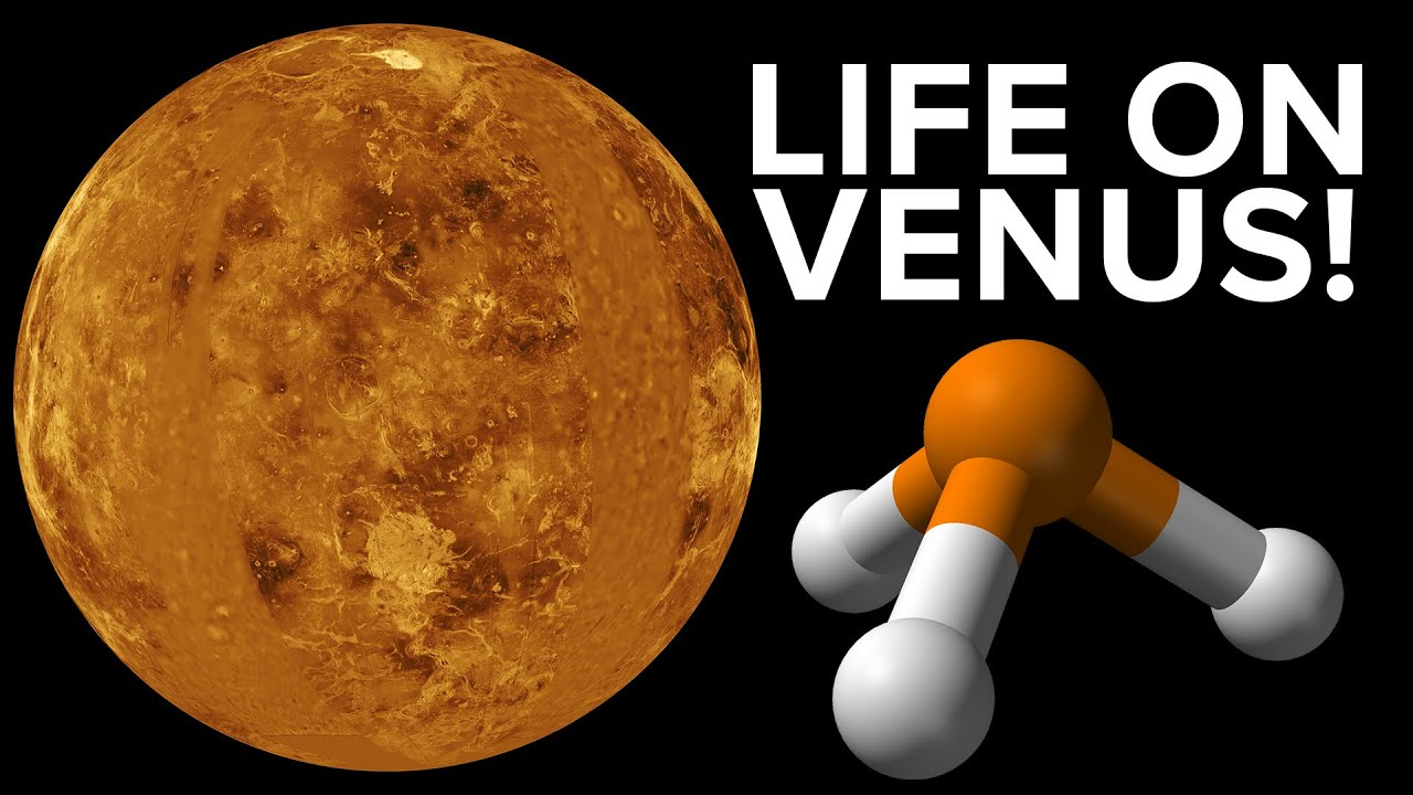 Life (maybe) Found on Venus - YouTube