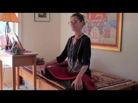 Introduction to Meditation Posture with Elizabeth Mattis Namgyel