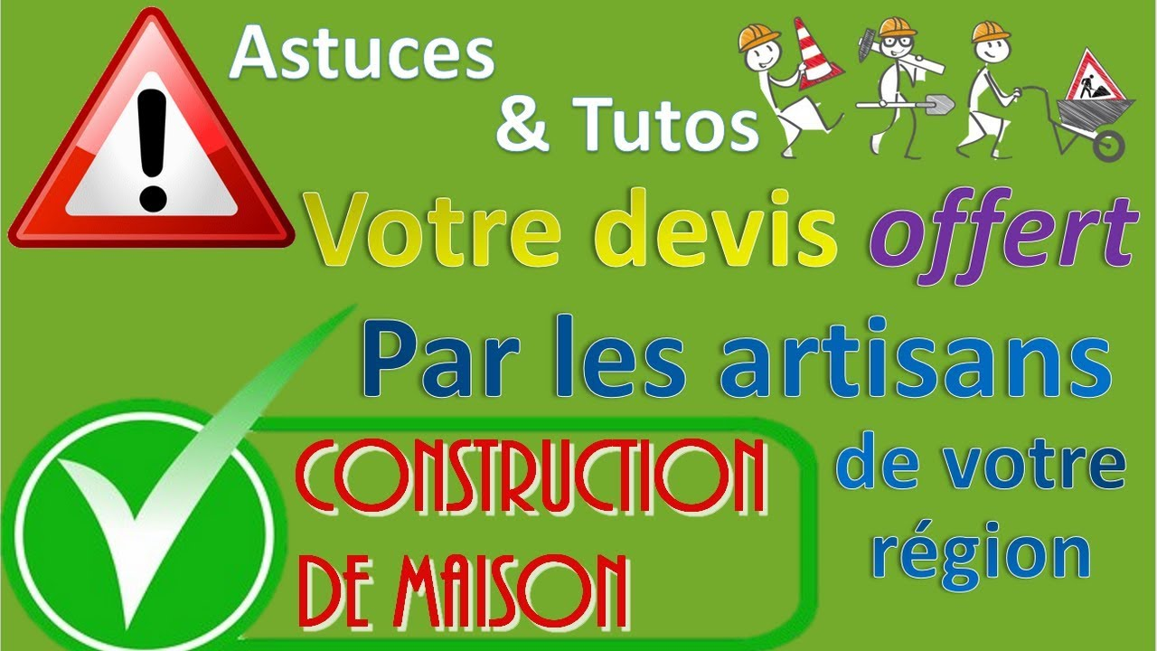 Devis Gratuit Construction De Maison YouTube - Devis construction maison gratuit
