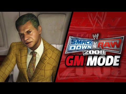 "WWE Smackdown vs Raw 2008 - ""RAW DRAFT!!"" (GM Mode #1)"