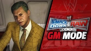 "WWE Smackdown vs Raw 2008 - ""RAW DRAFT!!"" (GM Mode #1)"