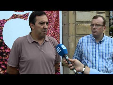 DECLARACIONES ALCALDE ALEJANDRO VEGA XVIII Fiesta de la Sidra de Villaviciosa 2015