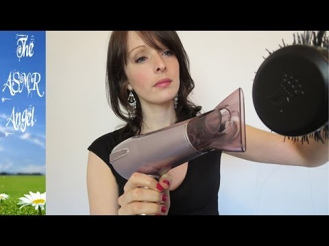 Hairdresser Role Play - Hair colouring & washing ( ASMR - Binaural - 3D Sound)