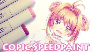 【Copic Speedpaint】 CCS  Sakura