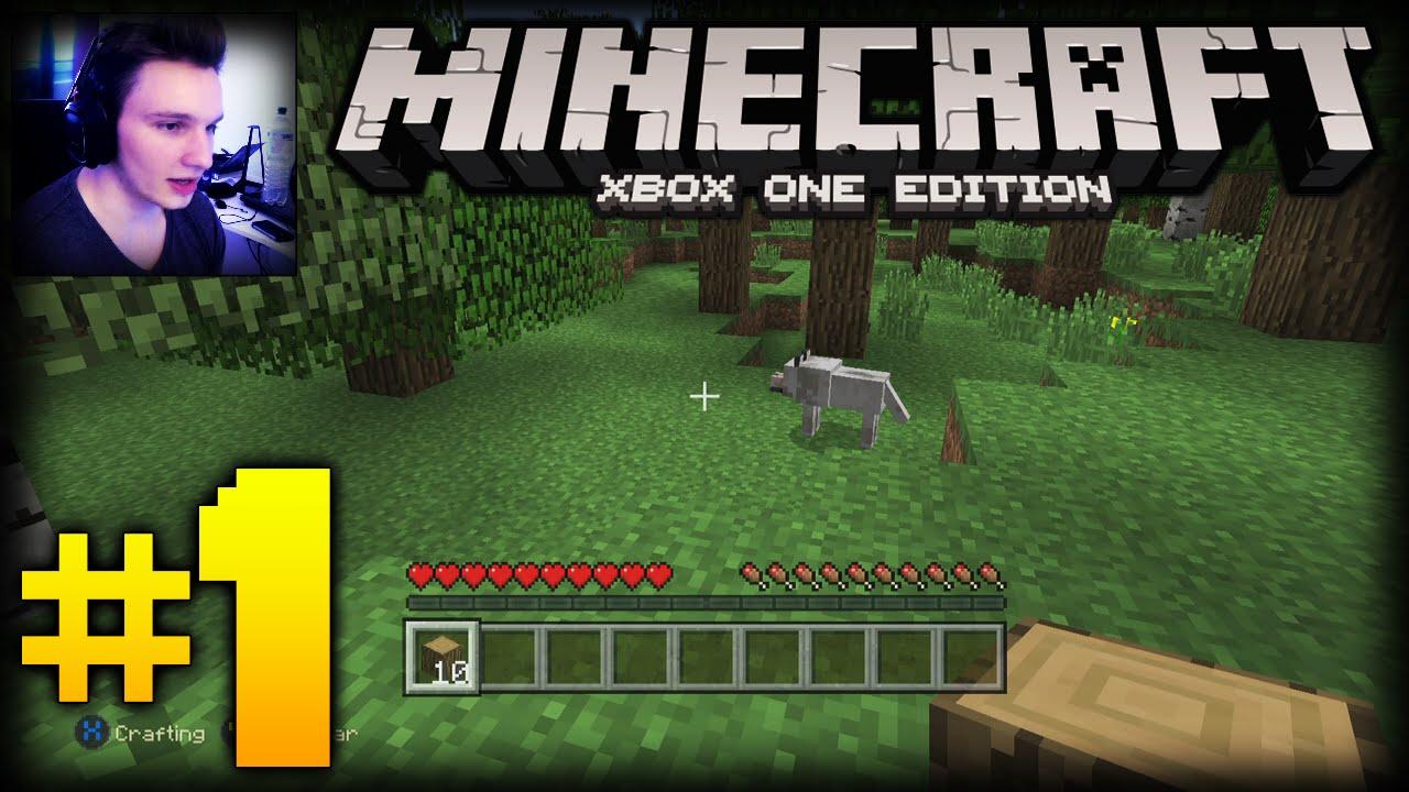 minecraft xbox one edition  part 1  eine neue welt