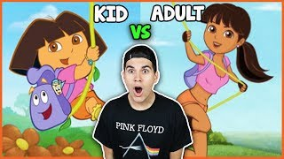 Video Cartoon Characters Reimagined As Adults download MP3, 3GP, MP4, WEBM, AVI, FLV Juli 2017