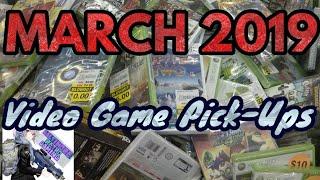Video Game Pick Ups   March 2019   Baltimore Retro Gaming