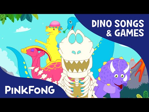 T-Rex,Pachycephalosaurus,Triceratops SPECIAL | Dinosaur Songs & Games | PINKFONG Songs for Children