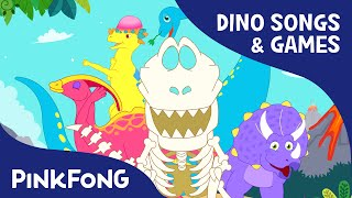 T-Rex,Pachycephalosaurus,Triceratops SPECIAL | Dinosaur Songs & Games | PINKFONG Songs for Children thumbnail