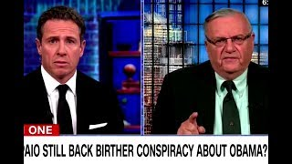 Joe Arpaio: Birtherism Is Still Real To Me Dammit!