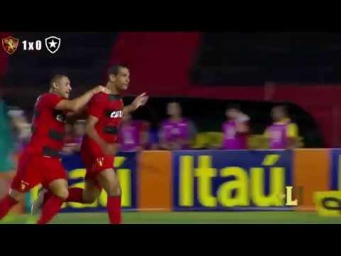 Sport 1 x 1 Botafogo   Gols  Melhores Momentos   22-05-2016   Full HD1