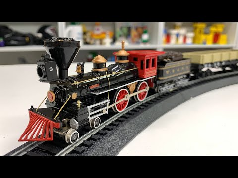 "BACHMANN TRAINS ""THE GENERAL"" TRAIN SET UNBOXING and REVIEW HO Scale Starter"