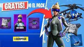 NEW EXCLUSIVE PACK *FREE* IN FORTNITE Fortnite Battle Royale
