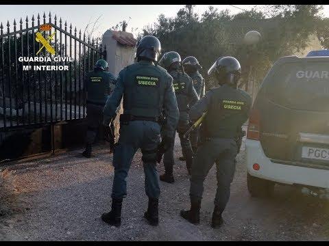 La Guardia Civil desmantela una plantación de marihuana en Totana