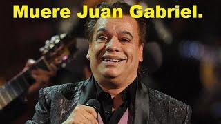 Muere Juan Gabriel de un infarto