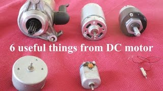 6 Useful things from DC motor - Compilation thumbnail