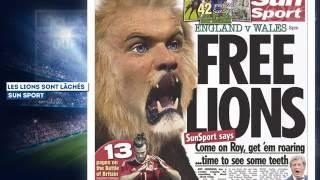 Angleterre - Pays de Galles : les lions sont lâchés !