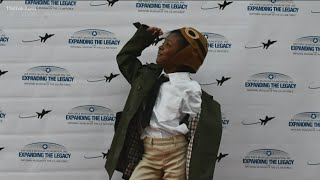 8yr Old Black Girl Inspired By Bessie Coleman
