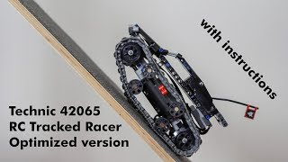 LEGO Technic 42065 RC Tracked Racer optimized version