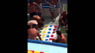 Ibiza Hard dance boat party