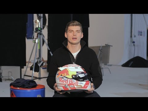 Max Verstappen reveals his 2019 helmet