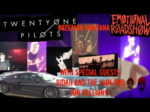 Twenty One Pilots Emotional Roadshow BOZEMAN MONTANA