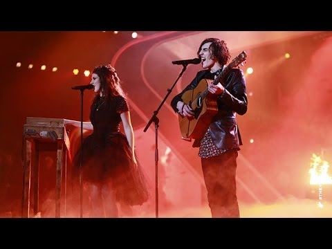 Gabriel & Cecilia sing Smells Like Teen Spirit | The Voice Australia 2014