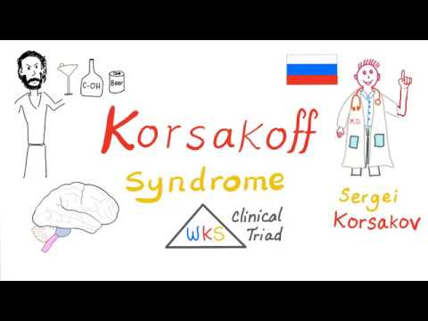 Korsakoff Syndrome (Korsakoff Psychosis) | Thiamine Deficiency.