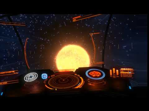 Elite Dangerous VR discovering many water worlds with Occulus Touch Controllers 20/03/2018 Part 1