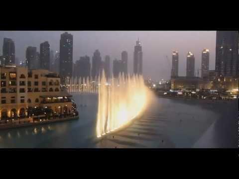 Tributo per Whitney Houston - La fontana danzante di Dubai