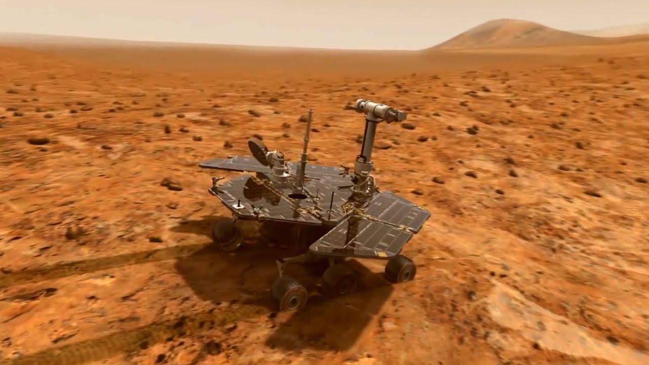 The Rover turns 10 on Mars Washington University YouTube