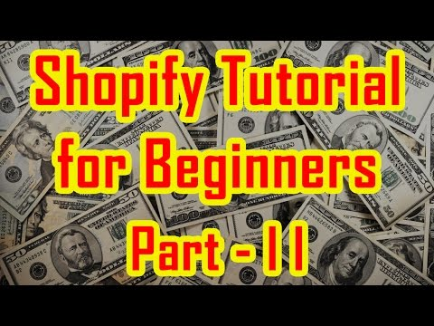 Shopify Tutorial for Beginners | How to create a Shopify Store - Part 2 thumbnail
