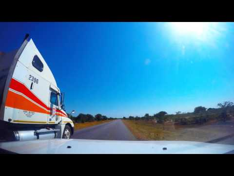 Road Trip Time-Lapse -  Pretoria to Harare